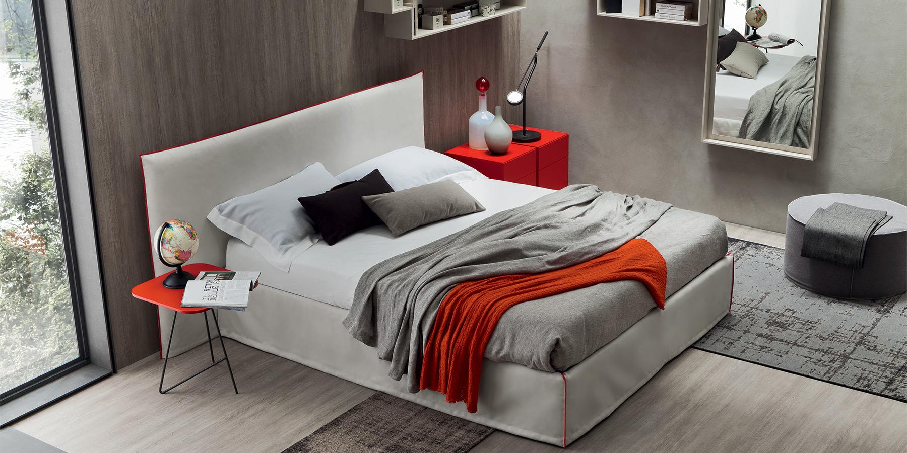 Italiano idee per arredare la camera da letto for Idee arredo camera da letto matrimoniale